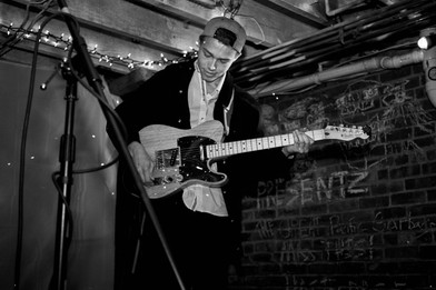 Nick and his telecaster