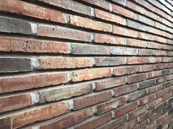 New Petersen brickwork