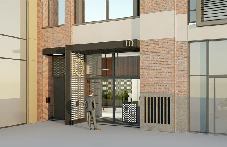 10 Slingsby Place - Entrance