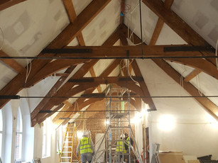 Endell St project on site