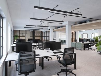 Typical office floor