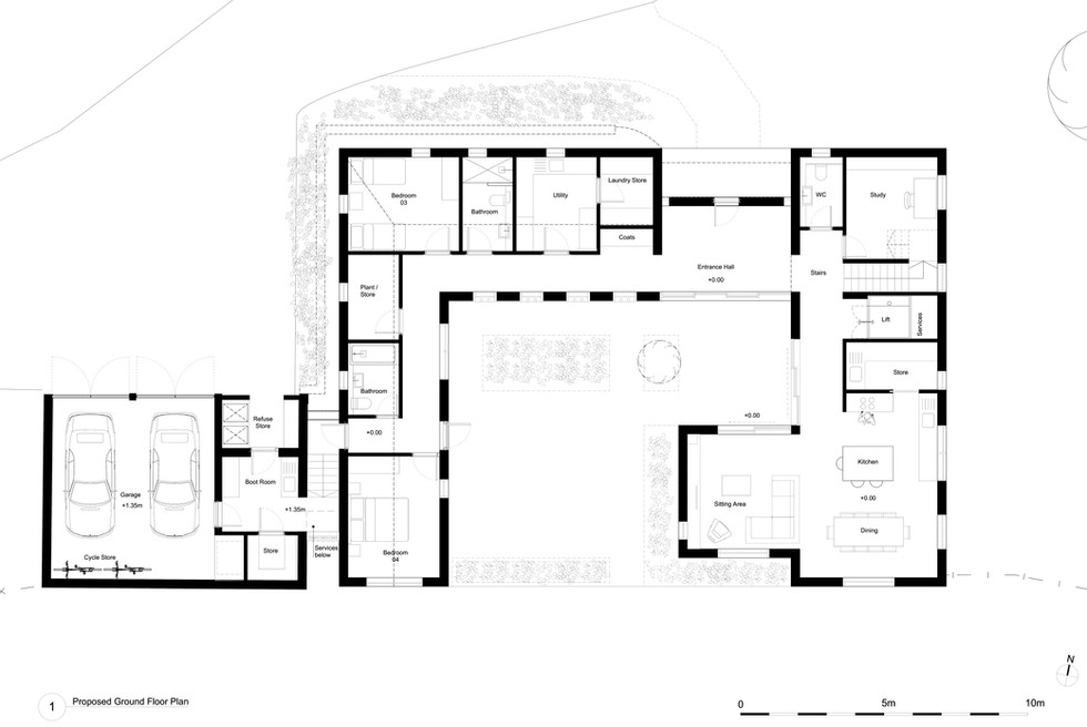 330 (GA) 00-Proposed Ground Floor Plan (
