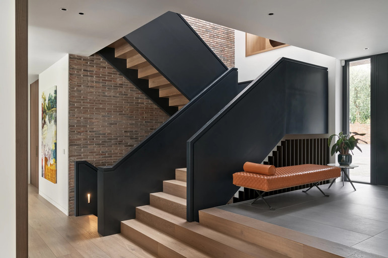 The new stair