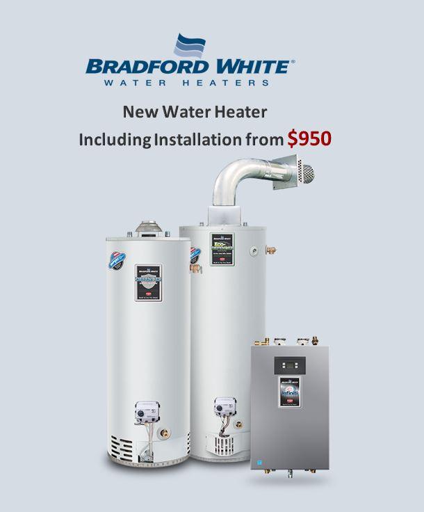 Bradford and White water heater