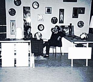 Jordi Bonet, Salon Du Commerce, Montréal. Vers 1961