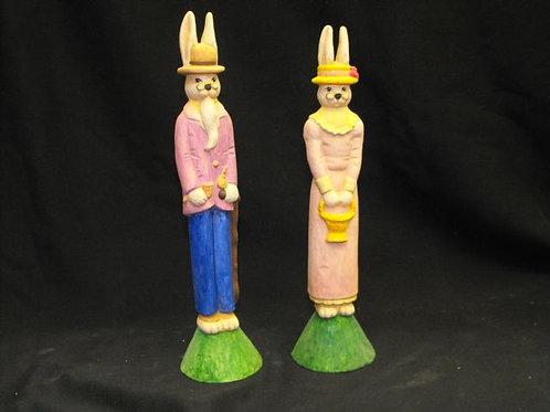 Mr. & Mrs. Pencil Rabbit