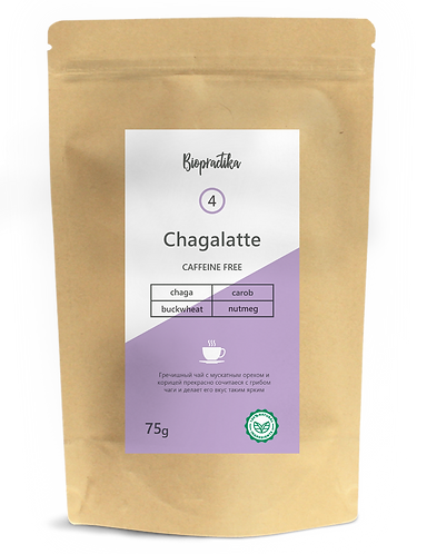 """""""Chagalatte №4"""" Гречишный чай и мускатный орех"""