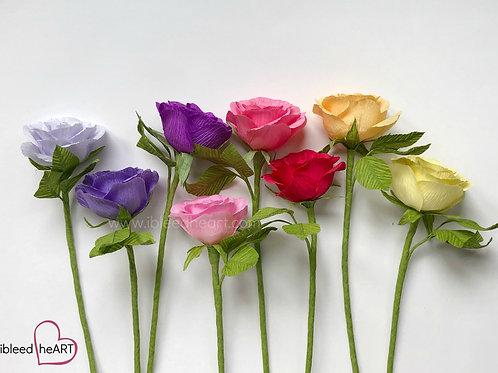 Rose Stem - Single