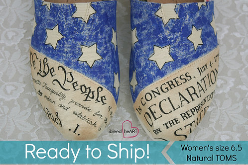 Patriotic Shoes - Women's 6.5