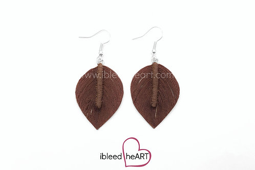 Brown Short Teardrop Shape - #288