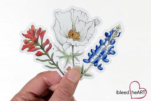 Wildflower Sticker