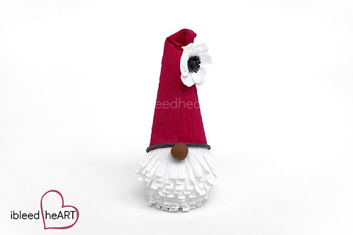 Red Anemone Gnome