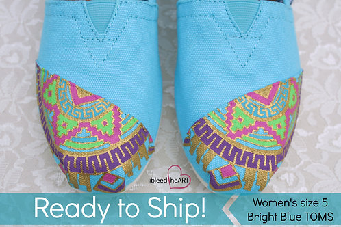 Aztec Mandala Shoes - Women's 5