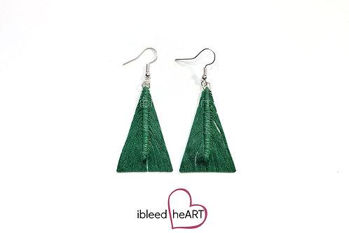 Green Triangle Shape - #tr43