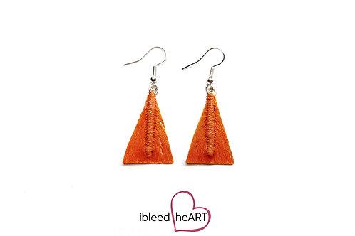 Orange Triangle Shape - #tr34