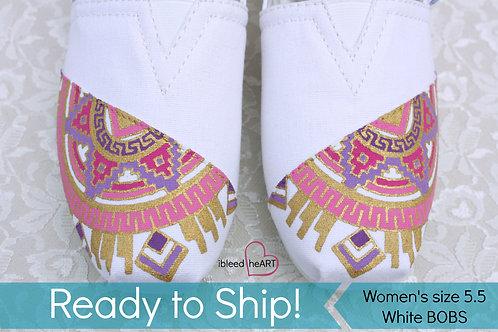 Aztec Mandala Shoes - Women's 5.5