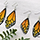 Thumbnail: Monarch Wing Earrings