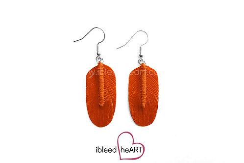 Orange Oval Shape - #16