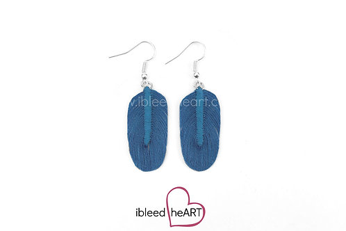 Blue Oval Shape - #162