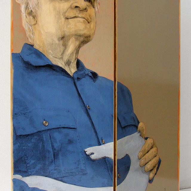 Ready For A Bronze (Portrait of Tony Jones, sculptor)