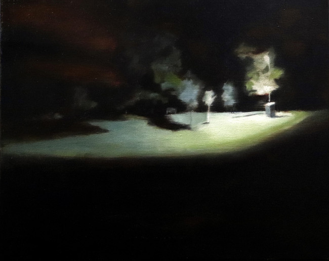 The walk home 40x50cm Oil on canvas