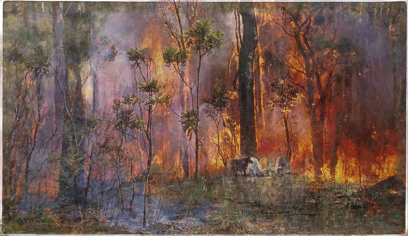 Firestorm_Frederick_McCubbin_-_Violet_and_Gold_1911