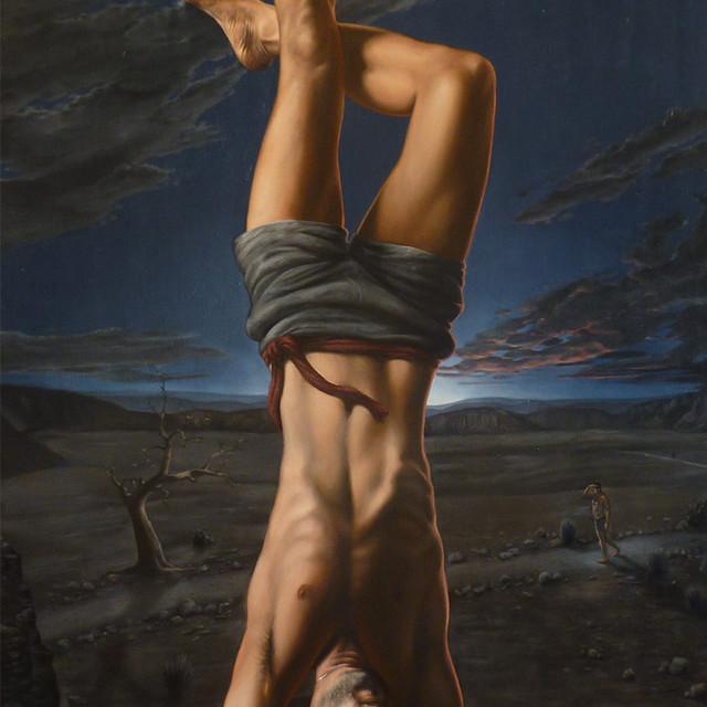 The Hanged Man (portrait of Joe McKee)