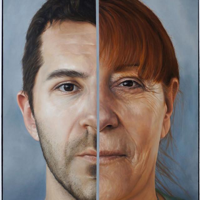 Portrait of the Artist's Inheritance (right panel)