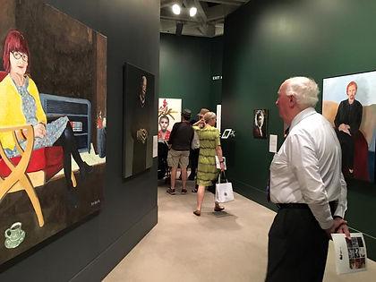 The Art of Pete Ross Black Swan Portrait Prize