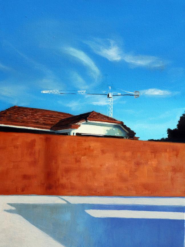 Progress Perth Royal Show Finalist 40x50cm Oil on canvas