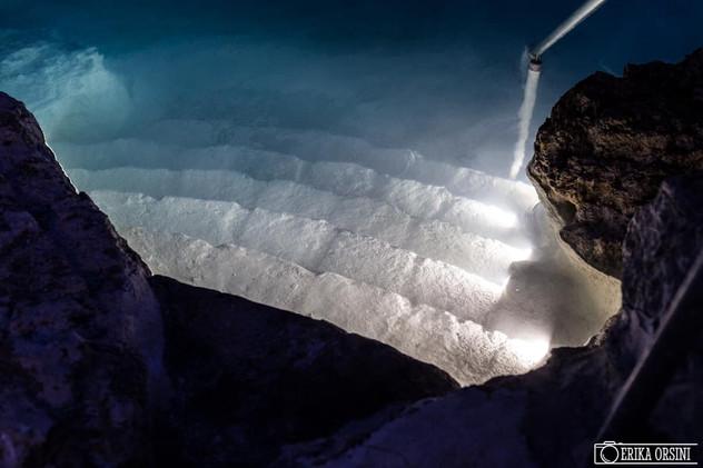 Terme di Viterbo: cascate acqua termale