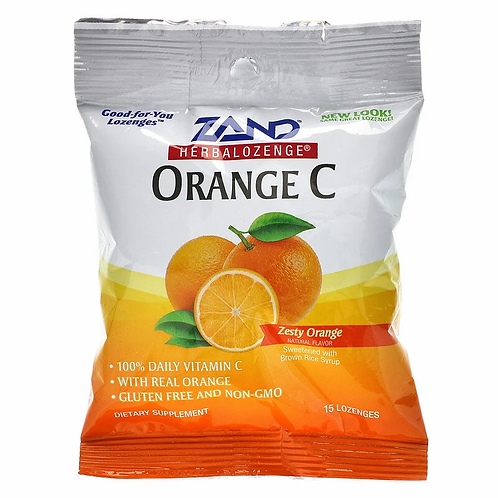 Zand Orange C Lozenges