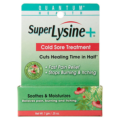 Quantum Health, Super Lysine+, Cold Sore Treatment, .25 oz (7 g)