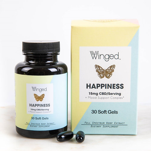 Winged Happiness Soft Gels