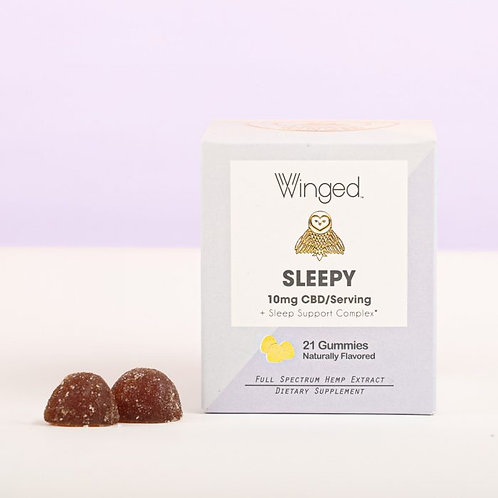 Winged Sleepy Gummies