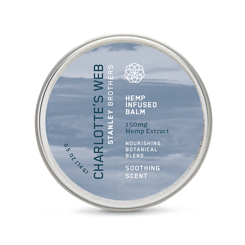 Charlotte's Web Hemp Infused Balm (0.5oz)