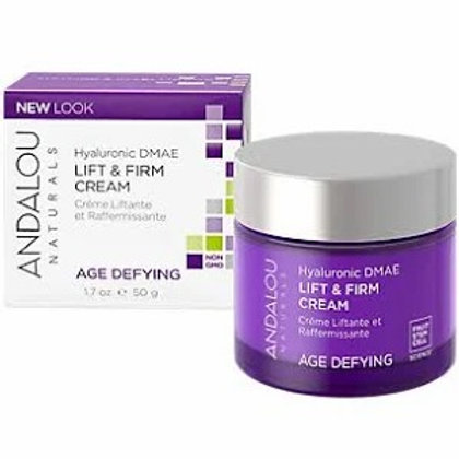 Hyaluronic DMAE Lift & Firm Cream - Age Defying (1.7 Ounces)