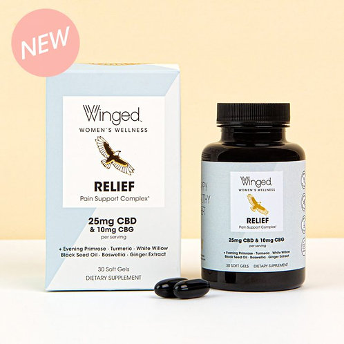 Winged Relief Pain Support Soft Gels