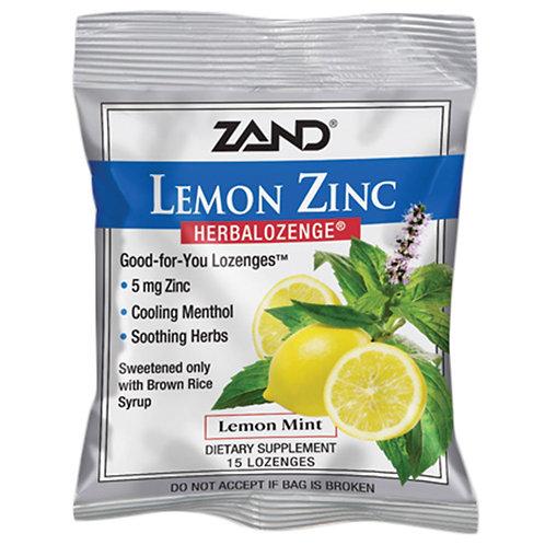 Zand Lemon Zinc Lozenges