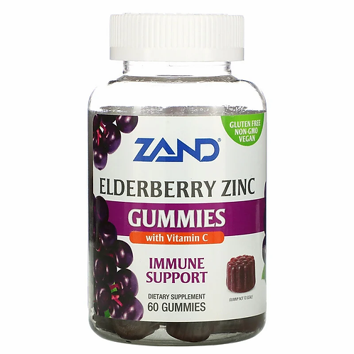 Zand Immunity Elderberry Zinc with Vitamin C Gummies