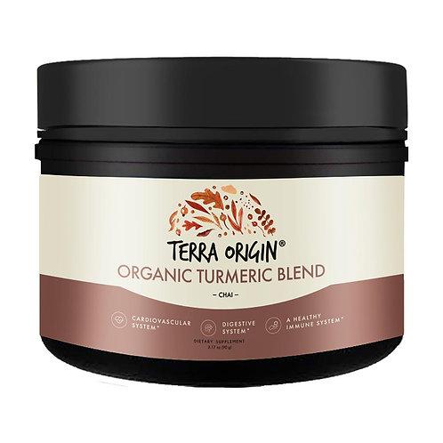Terra Origin Organic Turmeric Powder Chai 2.1 oz