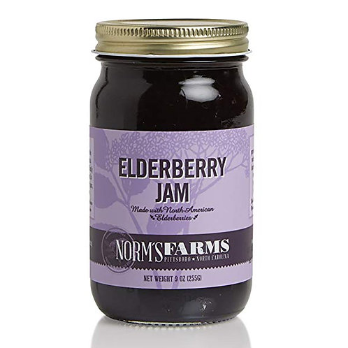 Norm's Farms Elderberry Jam 9 oz.