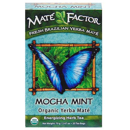 Maté Factor Mocha Mint Yerba Mate Tea 20 tea bags
