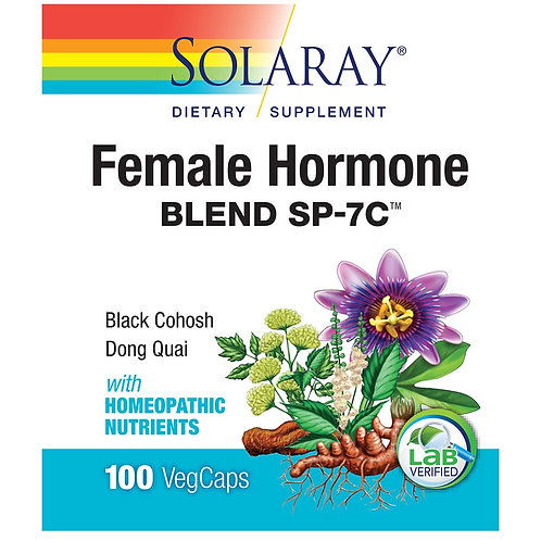 Solaray Female Hormone Blend SP-7 (100 ct)