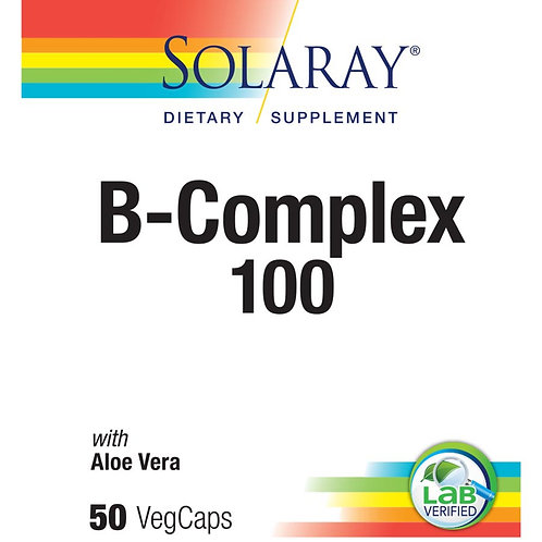 Solaray Vitamin B-Complex 100 50CT