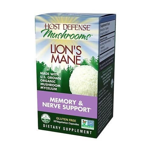 Host Defense Lion's Mane Capsules (30 ct)