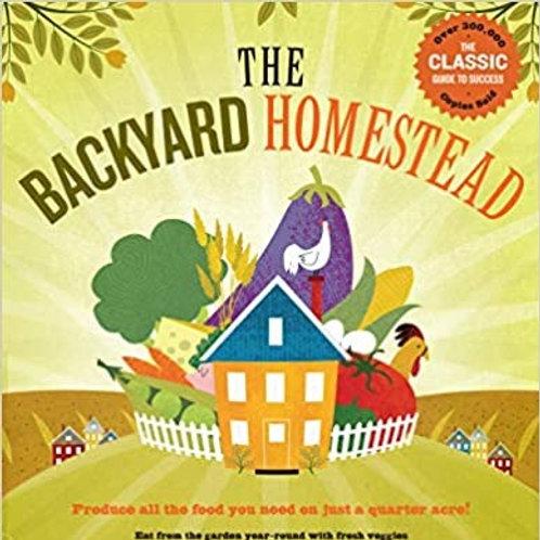The Backyard Homestead - By Carleen Madigan