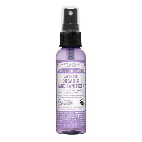 Dr. Bronner's Organic Lavender Hand Sanitizing Spray