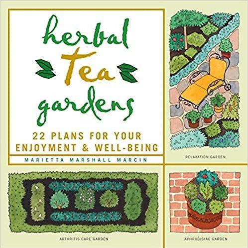 Herbal Tea Gardens  - By Marietta Marshall Marcin