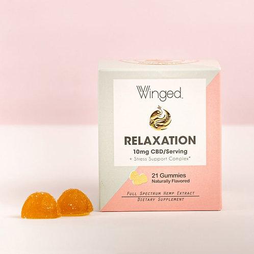 Winged Relaxation CBD Gummies